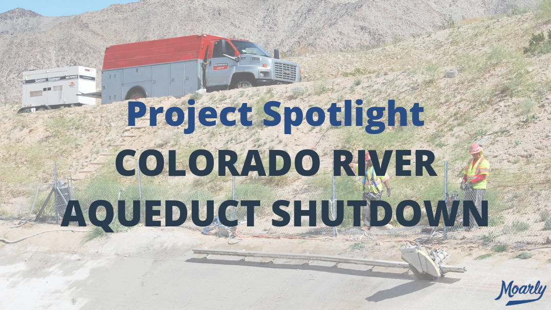 Project Spotlight | Colorado River Aqueduct Shutdown