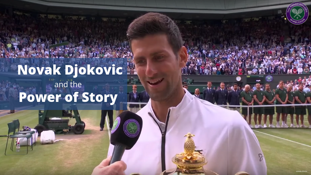 Novak Djokovic Storytelling